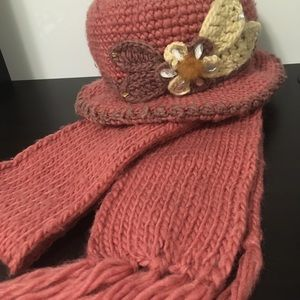 Accessories - A winter hat and scarf